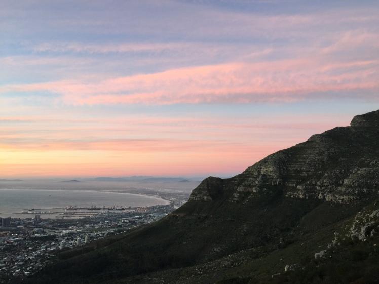 Sunset on platteklip gorge day 176 365 ubuntu Climbs