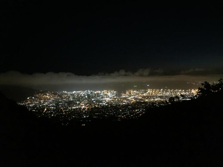Cape Town from platteklip gorge 365 Ubuntu Climbs