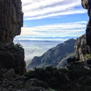 Devils Peak from top of Platteklip 365 Ubuntu Climbs