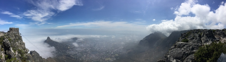 Table Mountain Panoramic 365 Ubuntu Climb summit