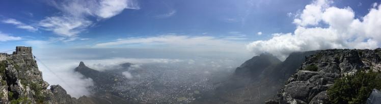 Table Mountain Panoramic 365 Ubuntu Climb summit